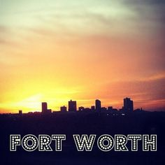 A City Guide to Fort Worth. Good to know I've been to most of these places! #texas #TCU #fortworth