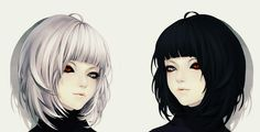 Kuro and shiro tokyo ghoul