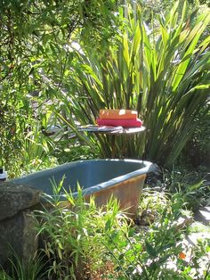 Outdoor room  Or  Tempting Tranquil Tub