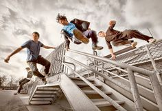 Getting across campus quickly is an essential skill for busy students, but members of the Carleton Parkour Club have taken it to a new level.