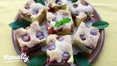 Vaníliás-cseresznyés kevert süti | Nosalty French Toast, Pudding, Cookies, Breakfast, Food, Crack Crackers, Morning Coffee, Custard Pudding, Biscuits