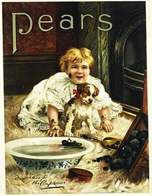Thomas J. Barratt Reklama mydła Pears' powiązanie reklamy ze sztuką wysoką gwiazdy teatralne i śpiewaczki operowe