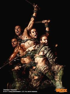 Dustin Clare is Gannicus Spartacus: Gods of the Arena, Vengeance War of the damed Spartacus Characters, Spartacus Tv Series, Liam Mcintyre, Gannicus Spartacus, Dustin Clare, Spartacus Blood And Sand, Gods Of The Arena, Spartacus Workout, Entertainment
