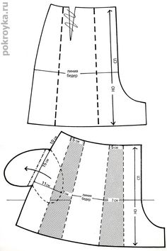 Выкройки шорт: классические, короткие, юбка-шорты   pokroyka.ru-уроки кроя и шитья Easy Sewing Patterns, Clothing Patterns, Fashion Sewing, Diy Fashion, Sewing Blouses, Sewing Pants, Shorts Outfits Women, Sewing Lessons, Pattern Drafting