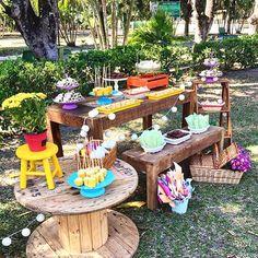 Festa linda picnic por @chicnicfestascriativas  #kikidsparty