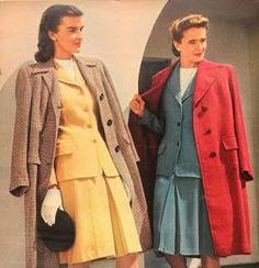It'll Take The Snap Out Of Your Garters!: 1944 Fashions IN COLOUR!