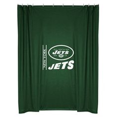 Kids New York Jets NY Fabric Shower Curtain