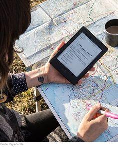 Como volverte adicto a la lectura con Kindle Paperwhite   Texto más oscuro y nítido Disfruta de un texto que se lee como en papel impreso. Las fuentes incluidas están ajustadas manualmente, píxel a píxel, para proporcionarte la mayor comodidad de lectura.Haz clic en este imagen para leer mas