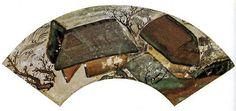 """Farmhouse in Spring"" fan painting by Tawaraya Sotatsu (early 17th century)."