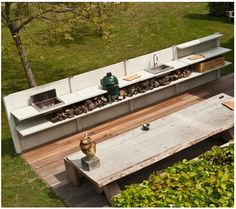 great outdoor kitchen example