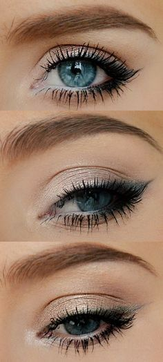 Everyday pretty eyes makeup
