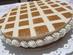 Tarta helada de arroz con leche Food N, Treat Yourself, Jello, Vanilla Cake, Cake Recipes, Cheesecake, Pie, Sweets, Cooking