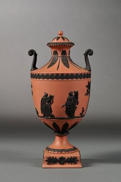 1957 Wedgwood Terra Cotta Jasperware Vase