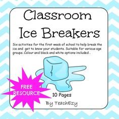 First week of school activities. Great anxiety and stress relievers and a fun way to get to know your students at the beginning of school. Get To Know You Activities, First Day Of School Activities, 1st Day Of School, Beginning Of The School Year, Year 4 Classroom, Classroom Icebreakers, Icebreaker Activities, Classroom Community, Kindergarten Ice Breakers