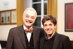 nel 2014 alla consegna dei diplomi con il M° Claudio Proietti.