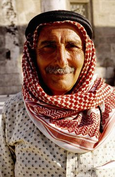 Guide, Jordan, just look at him (( smiling) and they say Jordanian people don't smile , lol