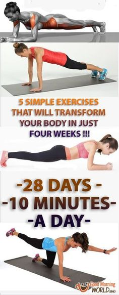 If you perform this program, you'll be very surprised with the results. Your body will be stronger and tighter, you'll feel better and your health will improve significantly (of course, as long as you pair the workouts with healthy meals and plenty of water). So why not give it a try and see for yourself!