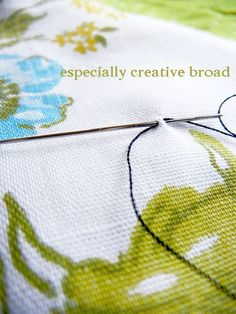 If you're still tying a knot in your thread to start your hand stitching, today's tip will change the way you sew forever. Seriously. I used to knot my thread, and it made me crazy that half the ...