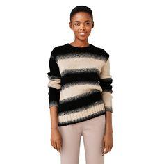 Ombre Stripe Crewneck Sweater - Kate Spade Saturday