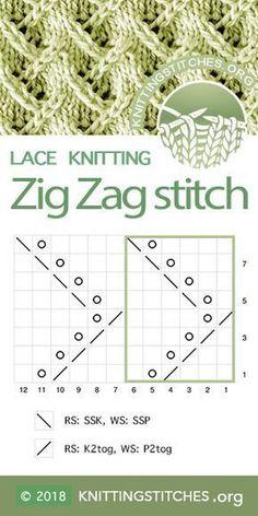 Wonderful Pics knitting techniques ideas Tips Top 21 Shawl Knitting Patterns Lace Knitting Stitches, Lace Knitting Patterns, Knitting Charts, Lace Patterns, Knitting Socks, Free Knitting, Stitch Patterns, Knitting Machine, Knitting Tutorials