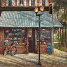 オールポスターズの ルアン・マンニング「Pastry Shop」ポスター