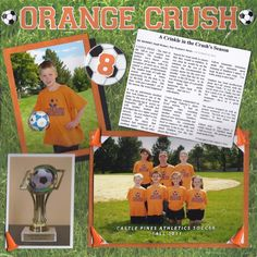 Orange Crush - Scrapbook.com