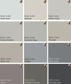 Thinking Grey to replace the red in my living room???