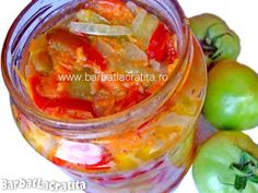 Salata de iarna cu mustar Canning Pickles, Romanian Food, Preserves, Cucumber, Pantry, Vegetables, Sauces, Drinks, Fitness