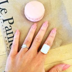 Love your Mani Monday look *and* sweet treat @taraslosberg!  || Shop now at ringly.com.