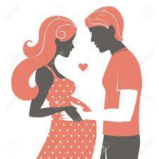 Resultado de imagen para silueta mama embarazada
