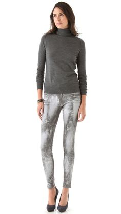 THE DAILY FIND: J BRAND 910 COATED SKINNY JEANS