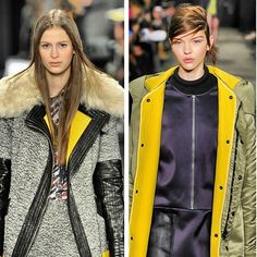 A slice of #lemon adds some zest to outerwear @RebeccaMinkoff & at Rag & Bone #NYFW #MBFW #runway #trends #bright #yellow #AW13 #Fall13 #latergram #fashion