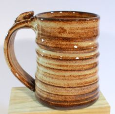 My Art...  Pottery Mug Handmade Coffee Cup Wheel by LaurenBauschOriginal, $22.00  Lauren Bausch Pottery