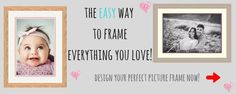 Easy-Frame manufactures quality custom made wooden picture frames. Buy made to measure picture frames online for your photos. Shop picture frames online now! Make Pictures, Love Photos, Family Photos, Beautiful Pictures, Family Portraits, Custom Frames Online, Custom Photo Frames, Perfect Image, Perfect Photo