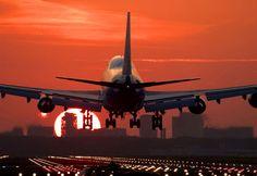 Boeing 747 Sunrise