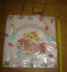 Vintage My Little Pony Kinder Plastic Bag HASBRO1984 Argentina | eBay