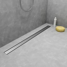 MODULO TAF LOW - Designer Linear drains from Easy Drain ✓ all information ✓ high-resolution images ✓ CADs ✓ catalogues ✓ contact information ✓. Laundry Bathroom Combo, Bathroom Drain, Shower Drain, Tile Walk In Shower, Window In Shower, Shower Floor, Modern Shower, Modern Bathroom, Bathroom Flooring