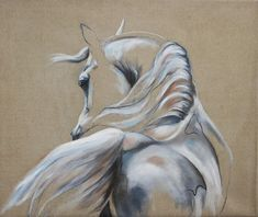 Horse Pencil Drawing, Horse Drawings, Animal Drawings, Oil Painting Abstract, Painting & Drawing, Watercolor Art, Arte Equina, Horse Sketch, Horse Anatomy