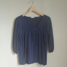 "Spotted while shopping on Poshmark: ""Navy Anthropologie Top""! #poshmark #fashion #shopping #style #Anthropologie #Tops"