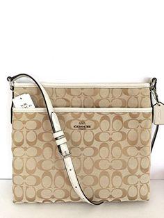 Coach Signature File Crossbody Handbag