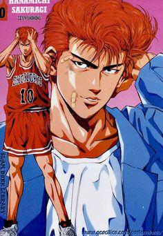 Lovable ginger douche ❤ Old Anime, Anime Manga, Anime Guys, I Love Anime, Me Me Me Anime, Slam Dunk Manga, Anime Stars, Comic Games, Anime Life