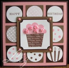 Stampin Up Card Folding Ideas | card I made last summer to swap with some friends at the Stampin Up ...
