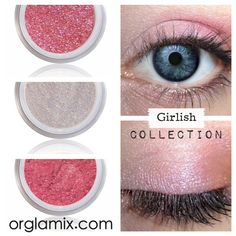 Girlish Collection | Natural, Luxury Mineral Makeup & Skin Care | Luxury makeup made with 100% natural, chemical free ingredients - Cruelty-Free - Gluten Free #orglamix #naturalbeauty $19.95