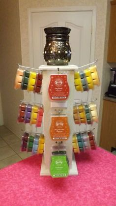 """Tree Bar Display Stand """"for Compatible w Scentsy Partylite Plug in Warmer 