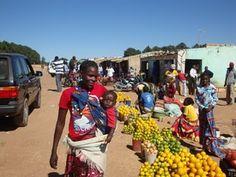 A market in Lubango, Angola