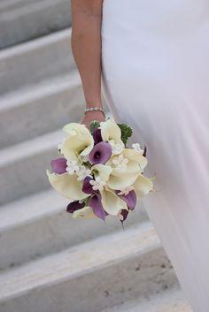 Victorian Lilac wedding bouquet