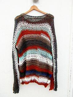 Jersey en color Multicolor por armarioenruinas en Etsy