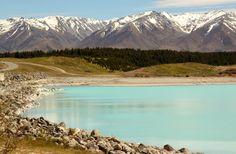 The Most Beautiful Lake Pukaki, New Zealand, South Island