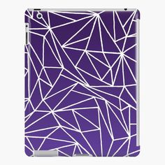 The Polka Dots with Green and Purple Stripes Skin Set for the Apple iPad All Models Available