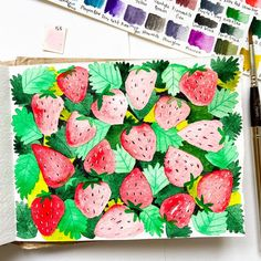 I absolutely love berries, especially strawberries. We get really delicious strawberries right now and I've been eating them all the time.…
